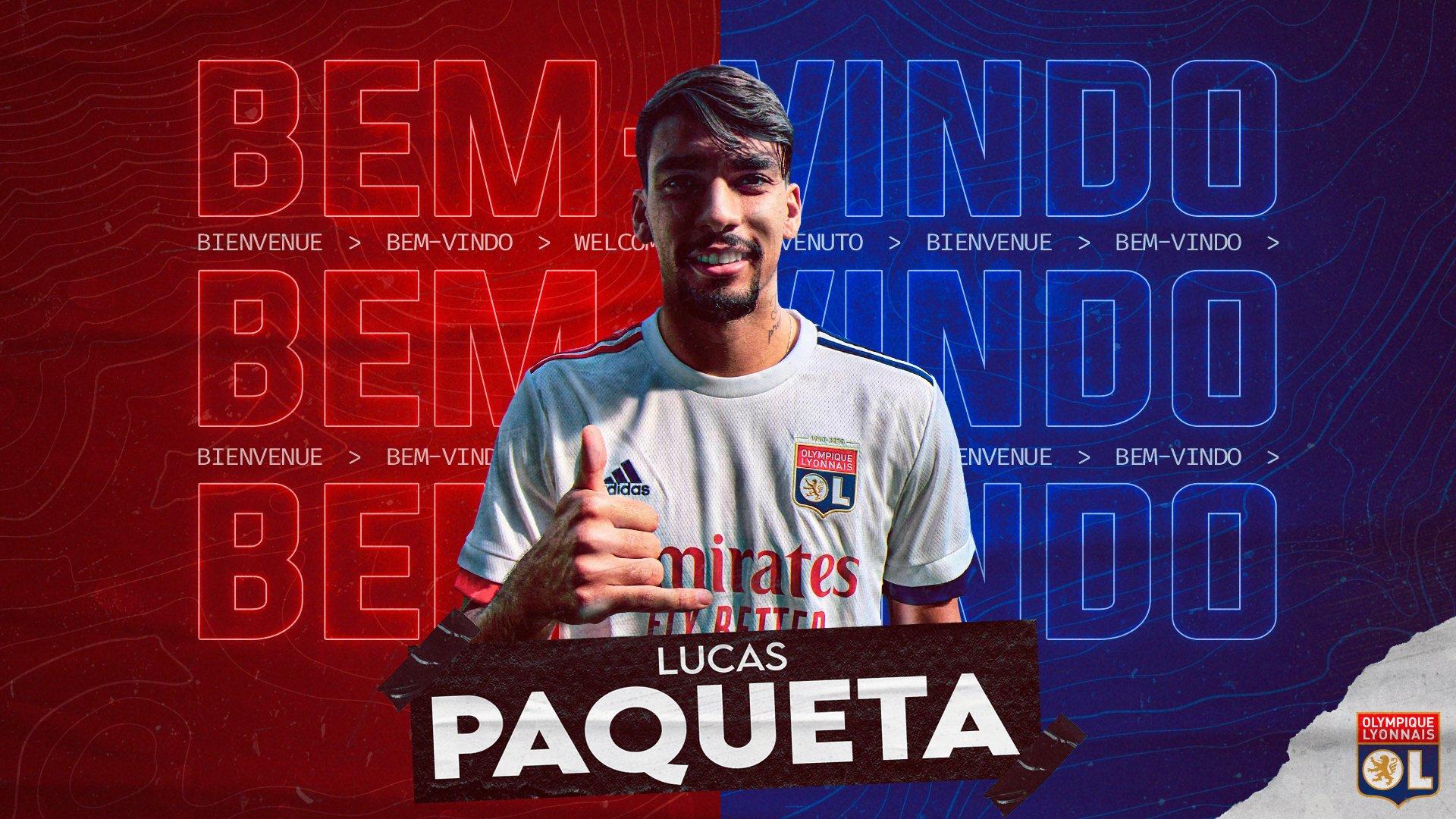 官方:里昂签下AC米兰中场帕奎塔,转会费2000万欧元