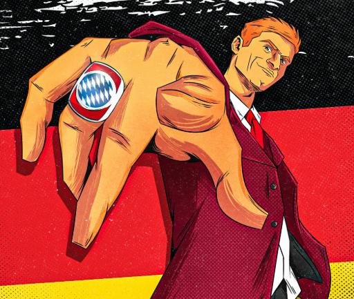 穆勒539场比赛参与396球,成德国史上冠军最多的球员