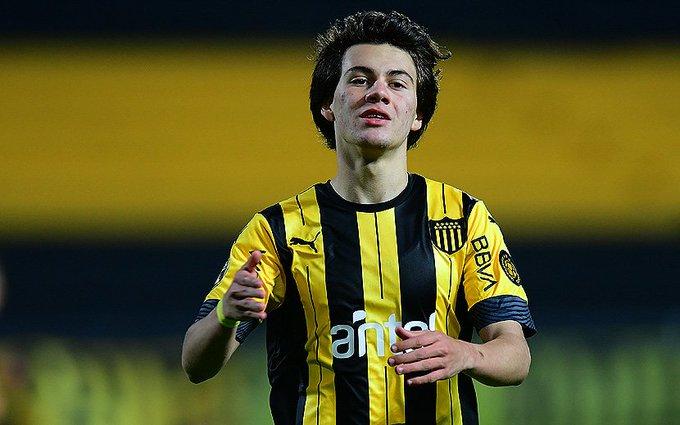 乌拉圭媒体:曼联争夺18岁小妖佩利斯特里,报价比里昂高