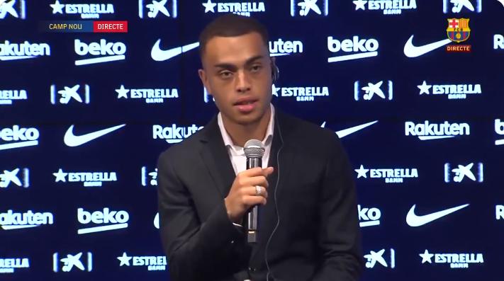 德斯特:拜仁是很好的俱乐部,但选择巴萨是遵从内心