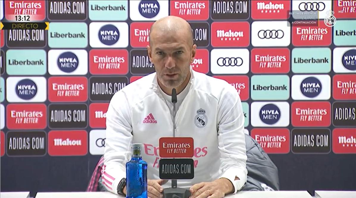 齐达内:阿扎尔肌肉受伤是因为他非常想回归球场