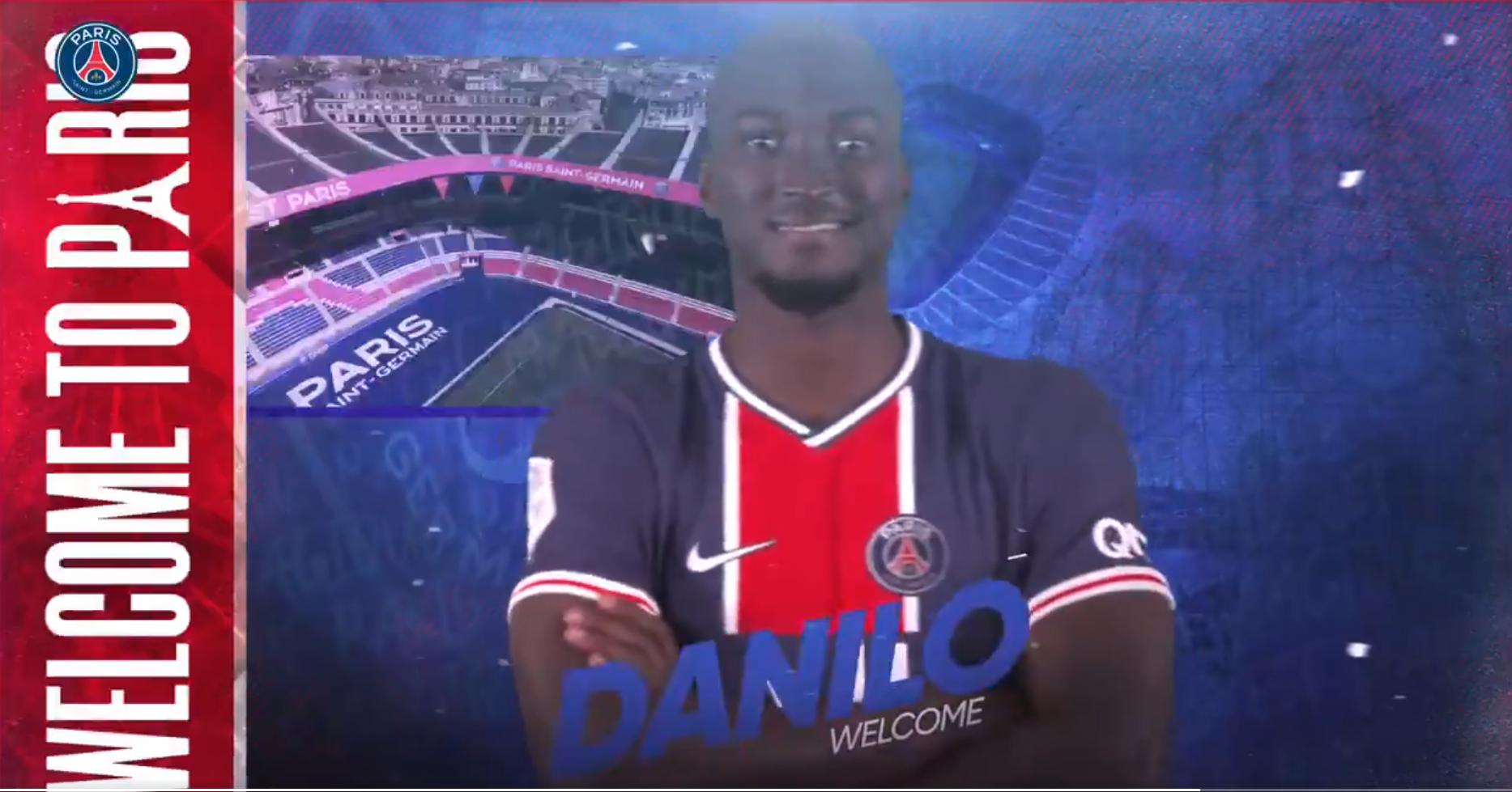 官方:波尔图中场达尼洛租借加盟巴黎