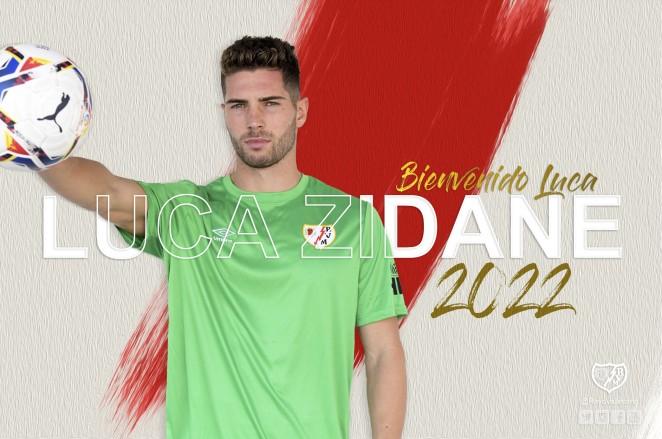 官方:卢卡-齐达内免签加盟西乙巴列卡诺,合同为期2年