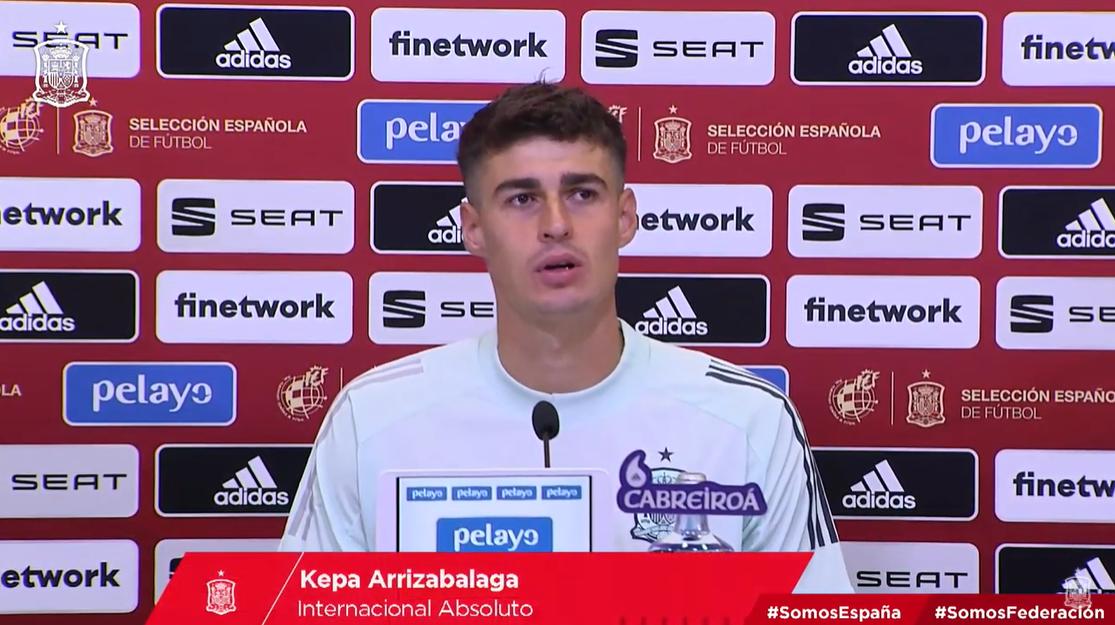 凯帕:希望11月国家队集训的时候,我在俱乐部有球踢