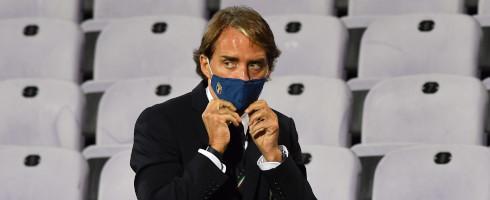 曼奇尼:意大利有众多优秀前锋,谁能进欧洲杯还得再看看