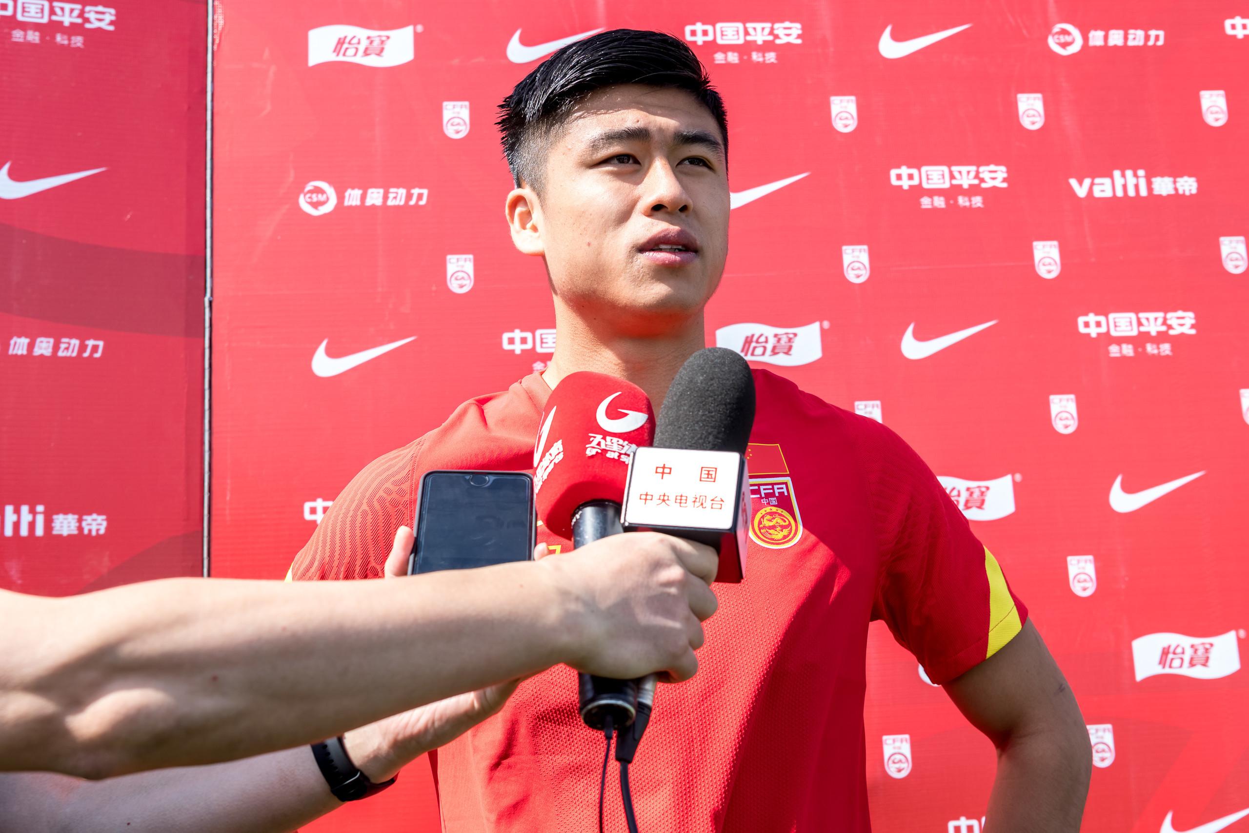 张玉宁:归化球员带来竞争促使进步,我一直都
