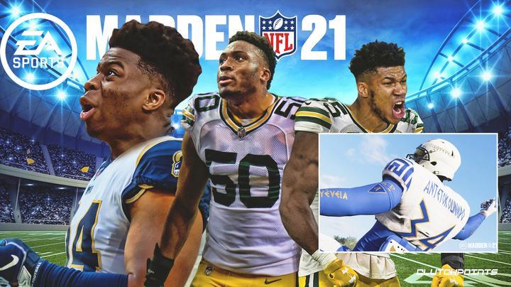 阿德托昆博兄弟加入EA旗下橄榄球游戏Madden NFL21