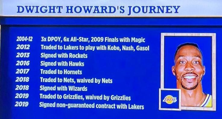 媒体列举霍华德履历:曾率队进总决,也曾被交易和放弃