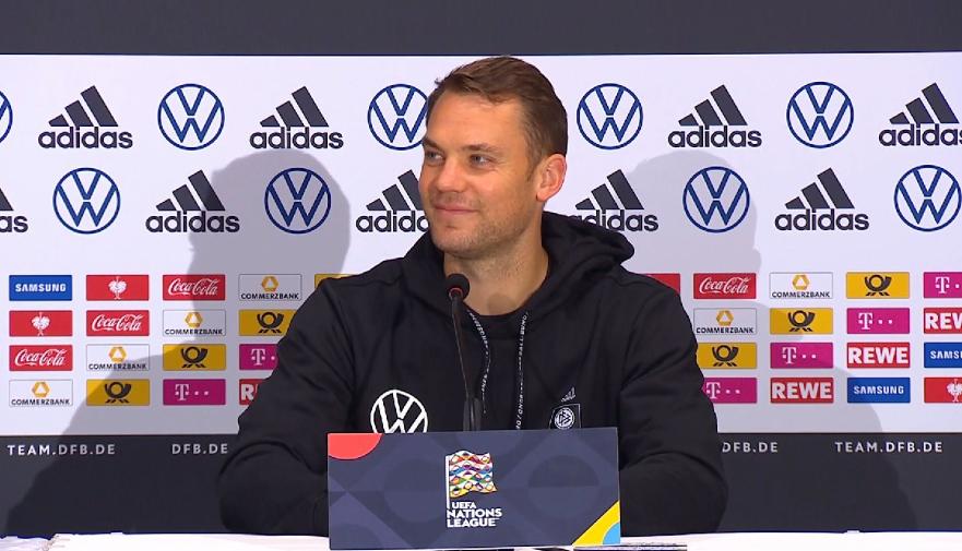 诺伊尔:德国队必须再次赢球,拜仁的团结值得德国队学习