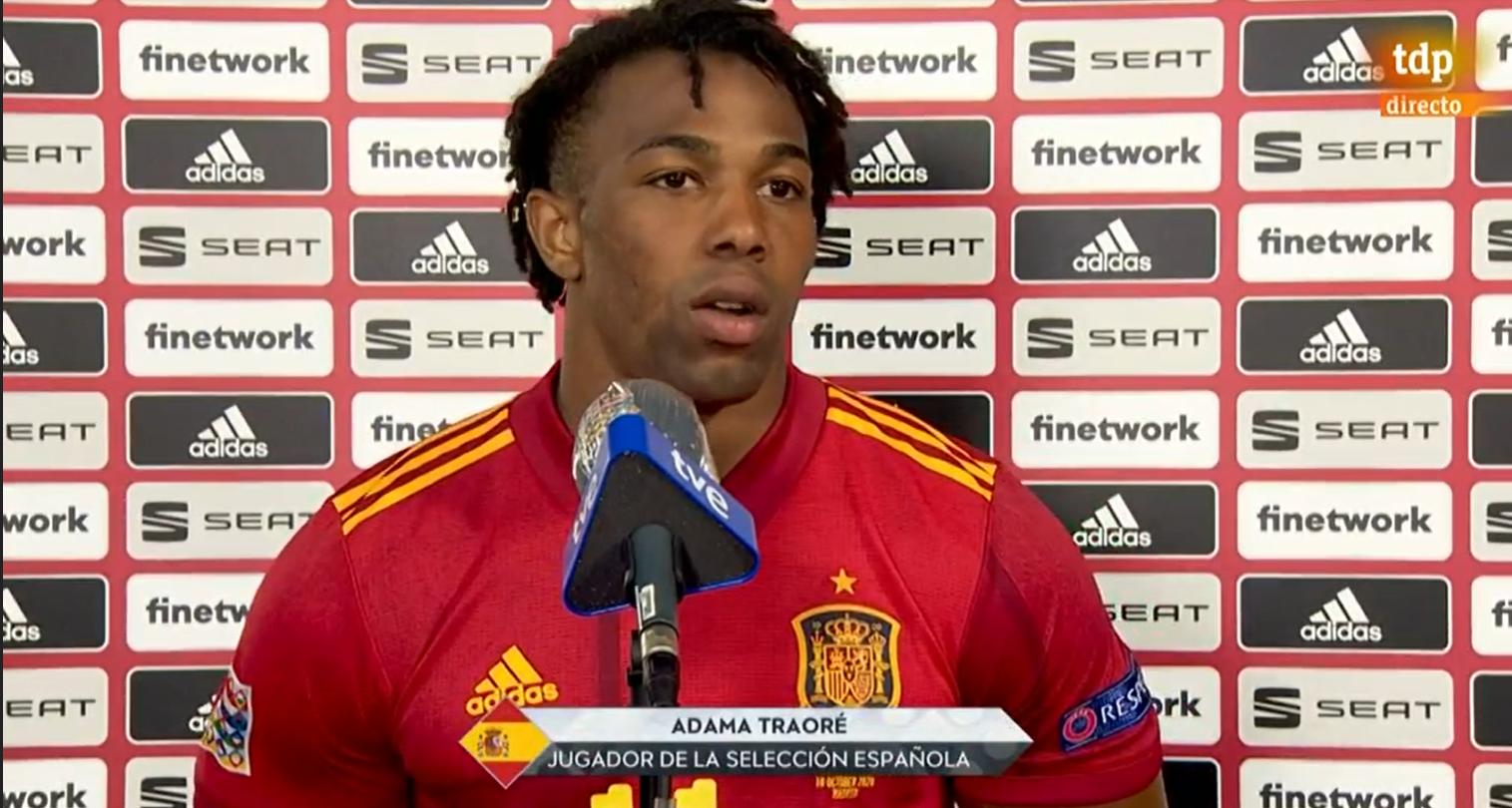 阿达马:西班牙需要在得分上做得更好,我也是如此