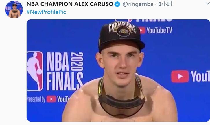 美国媒体The Ringer将推特头像和名字均改成卡鲁索