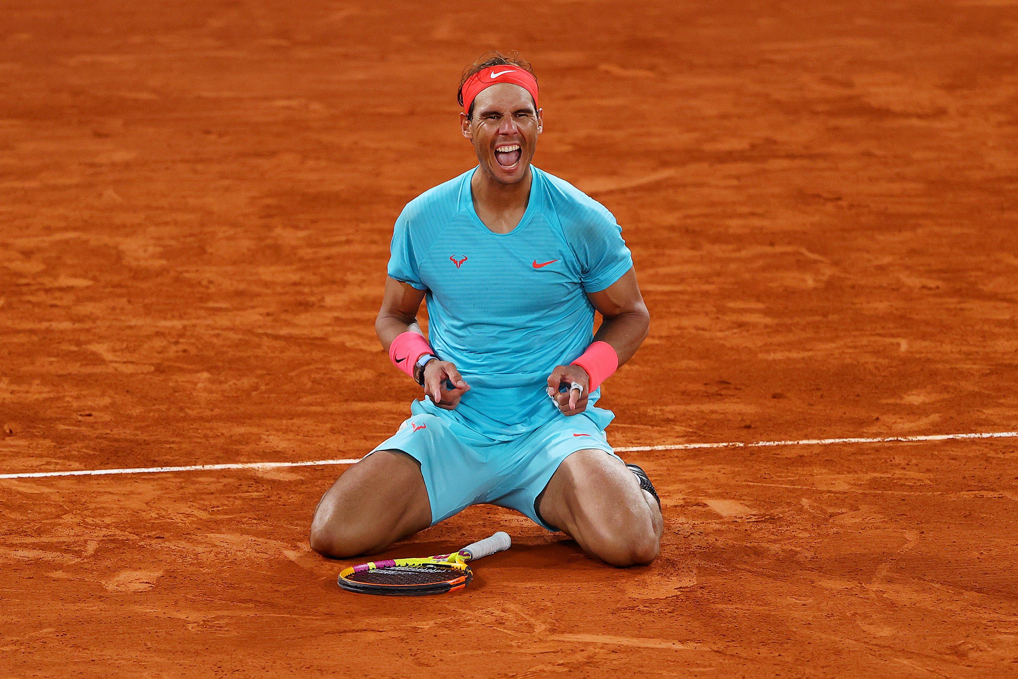 红土之王!皇马官方祝贺荣誉会员纳达尔第13次夺得法网冠军