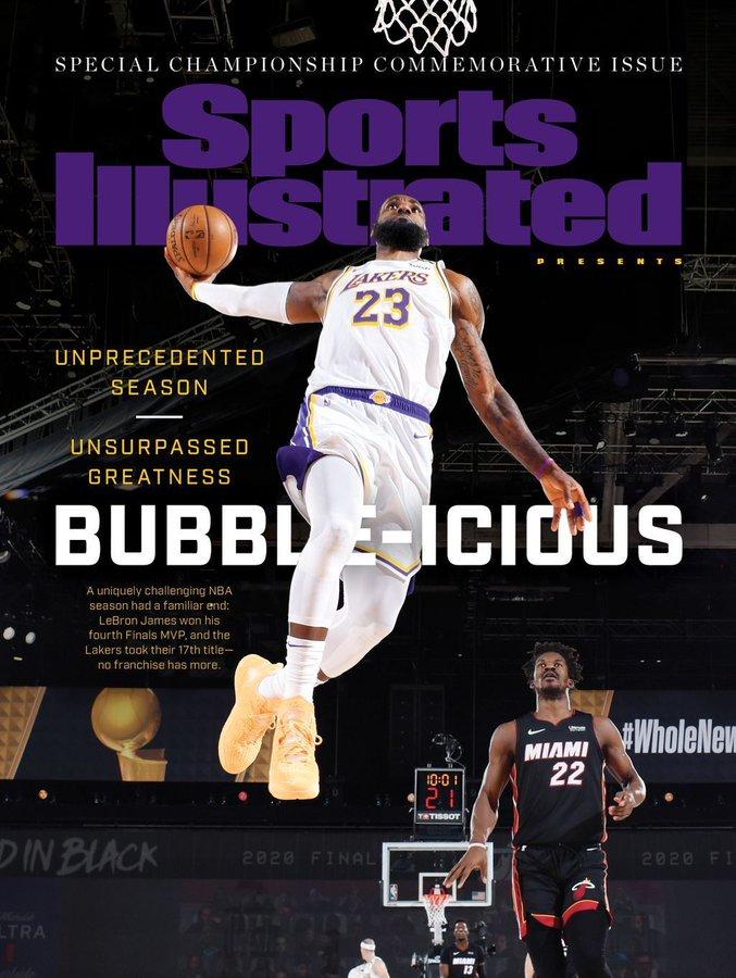 《体育画报》发布最新杂志封面人物:勒布澳门威斯尼斯人游戏朗-詹姆斯