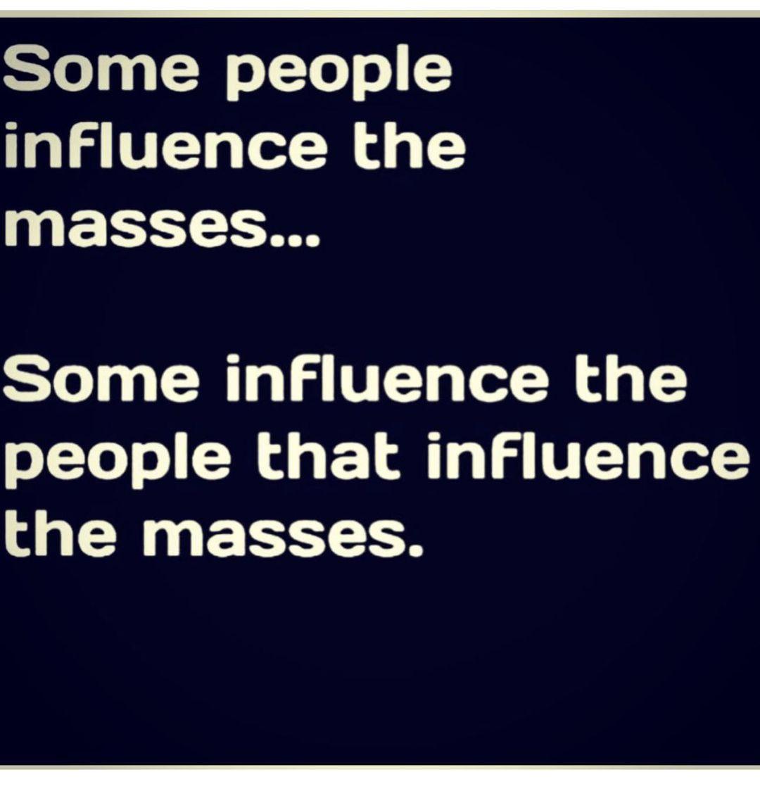 利拉德晒鸡汤:有些人影响大众,有些人影响了这些人