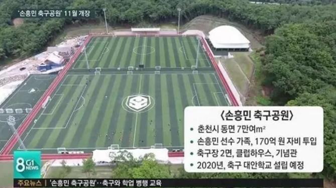 韩媒:接受父亲建议,孙兴慜捐170亿韩元建造运动公园