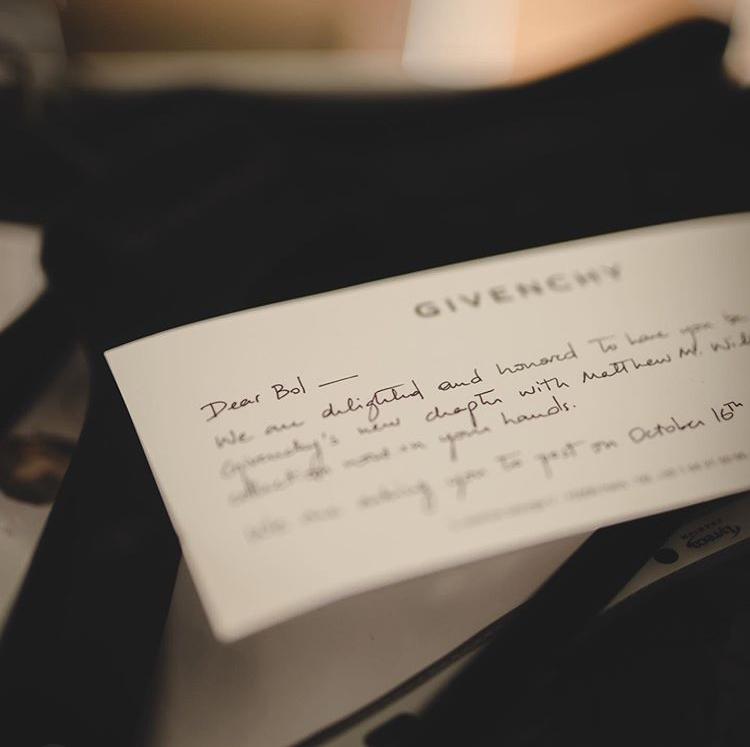 波尔-波尔将与纪梵希品牌签约合作