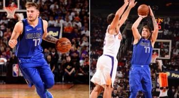 独行侠官推晒图:两年前的今天,东契奇完成NBA首秀