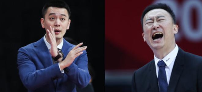 杨鸣调侃刘维伟发际线:当教练累脑,以后不想变成他那样