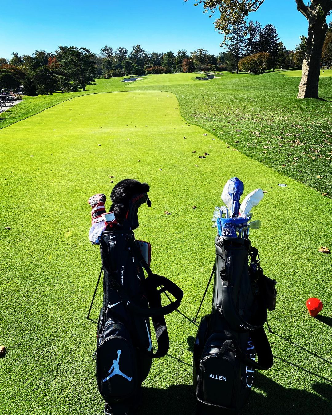 雷-阿伦晒高尔夫球场:在十月打高尔夫是无与伦比的