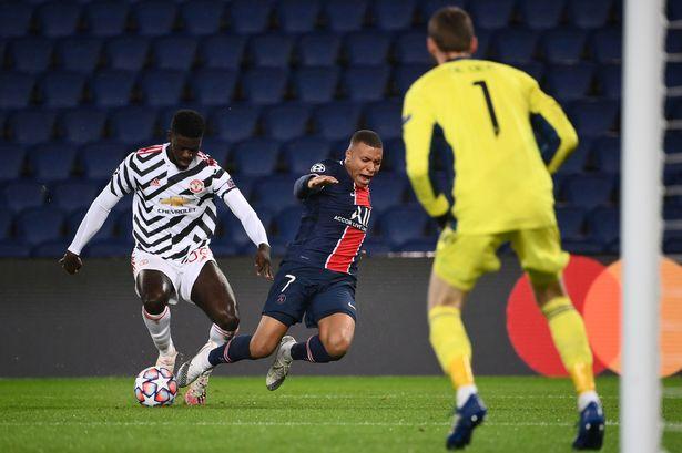 2!近3赛季,姆巴佩在巴黎主场的欧冠进球数和拉什福德相同