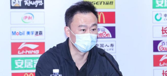 刘维伟:年轻队伍容易骄傲,幸好赢了,再打下去肯定输