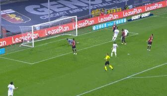 GIF:卢卡库铲射打破僵局,国际米兰1-0领先