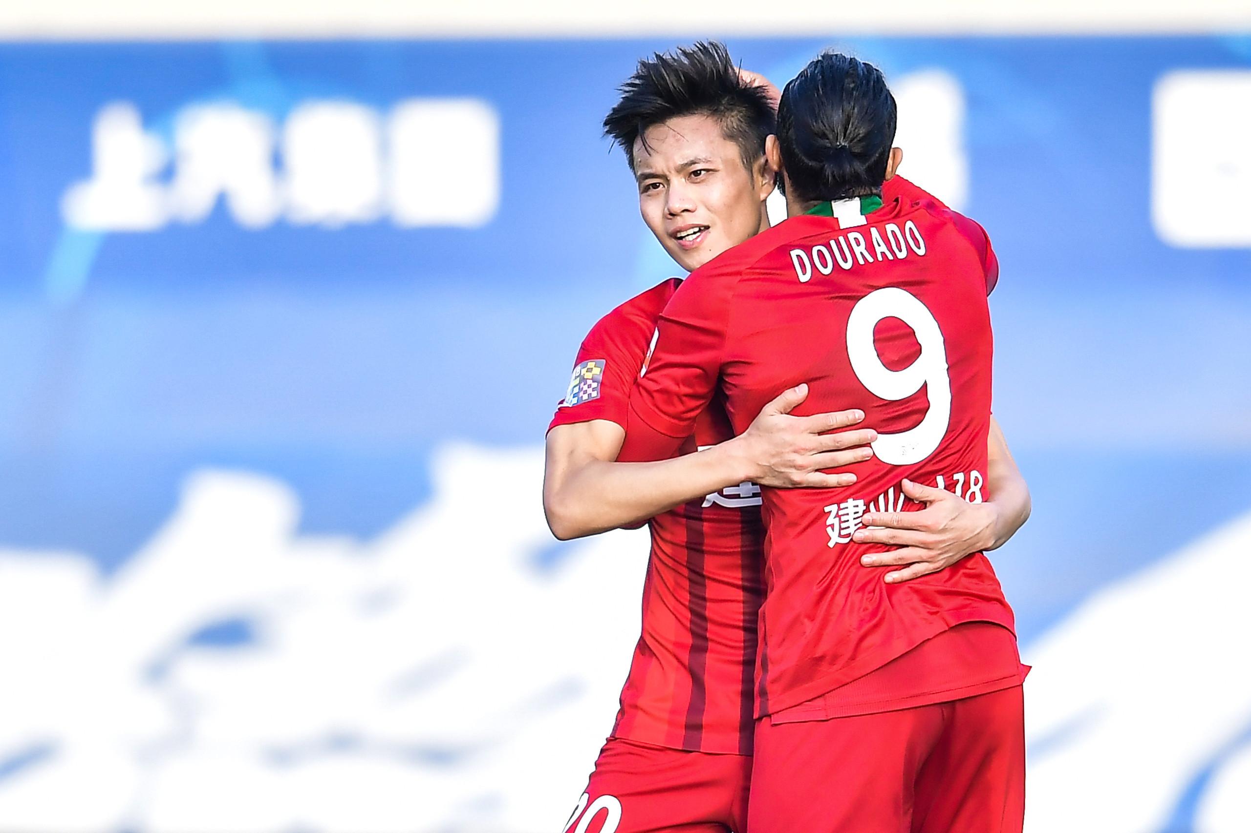 排位赛:冯博轩王上源建功, 建业2-1反转富力