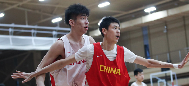 篮协公布U18国青男篮集训名单,曾凡博、吴勇豪等在列