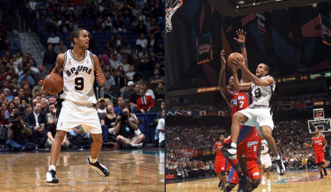 马刺晒托尼-帕克新秀照并附文:19年前帕克迎来NBA首秀
