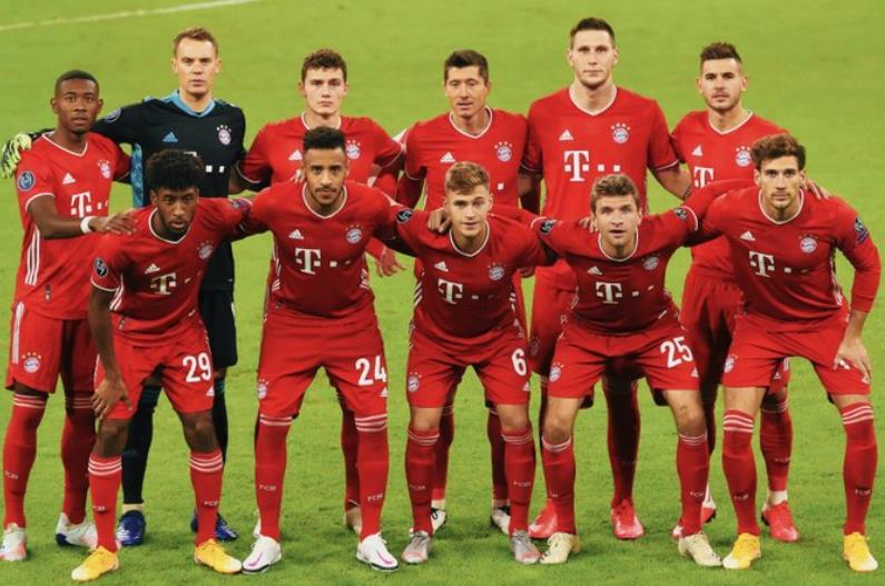 拜仁已在欧冠保持596天不败,创队史最长不败纪录