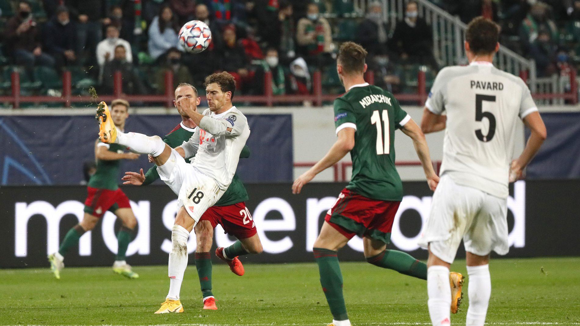 德媒:戈雷茨卡加盟拜仁以来平均每2场就参与1个进球