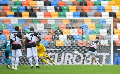 GIF:罗马尼奥利送点德保罗命中,乌迪内斯1-1米兰