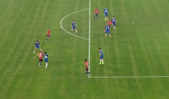 GIF:卡尔德克助攻,西里诺小角度巧射得手!重庆1-0申花