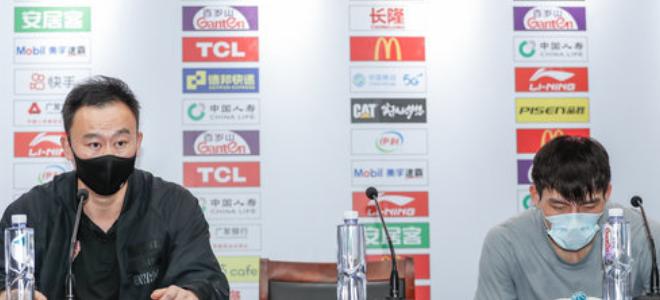 刘维伟直言不在乎连胜,吴前正逐步适应对手针对性防守