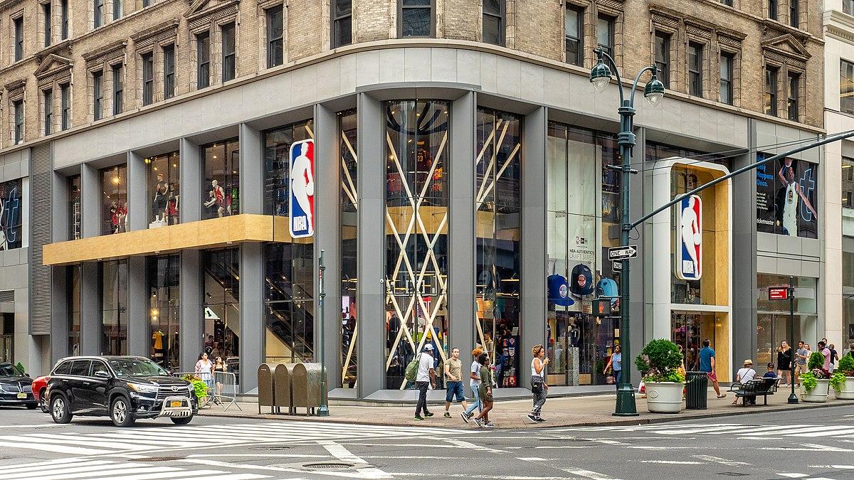 美媒透露NBA的曼哈顿旗舰店每年租金为750万美金