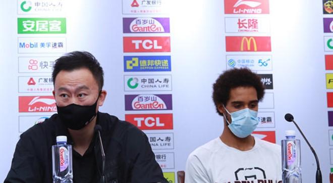 刘维伟:头一次遇见可以换三外援,外援贯彻球队现在打法就行
