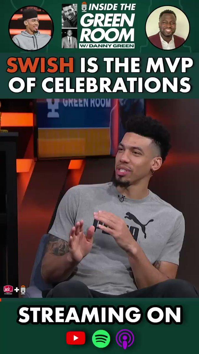 丹尼-格林:JR永远是我的MVP,是我的最有价值庆祝球员