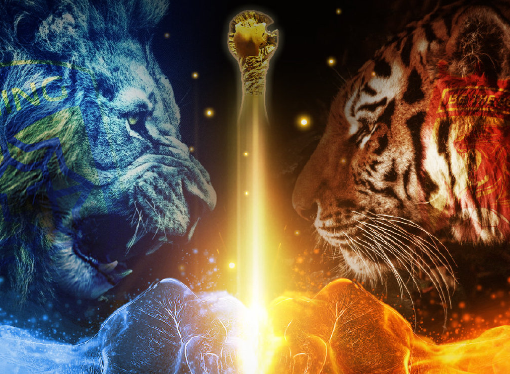 苏宁发布中超决赛海报:狮虎决,一起冲