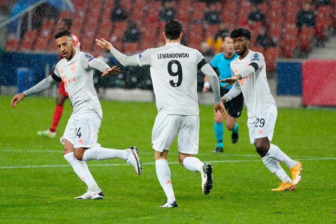 别惹我!拜仁在4个不同欧冠客场打入6球+,创历史纪录