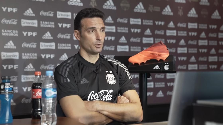 斯卡洛尼:无论梅西在不在,阿根廷都要保持相同面貌