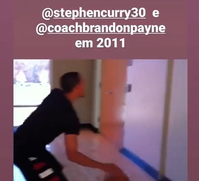 相当敏捷!训练师回顾2011年库里的训练片段
