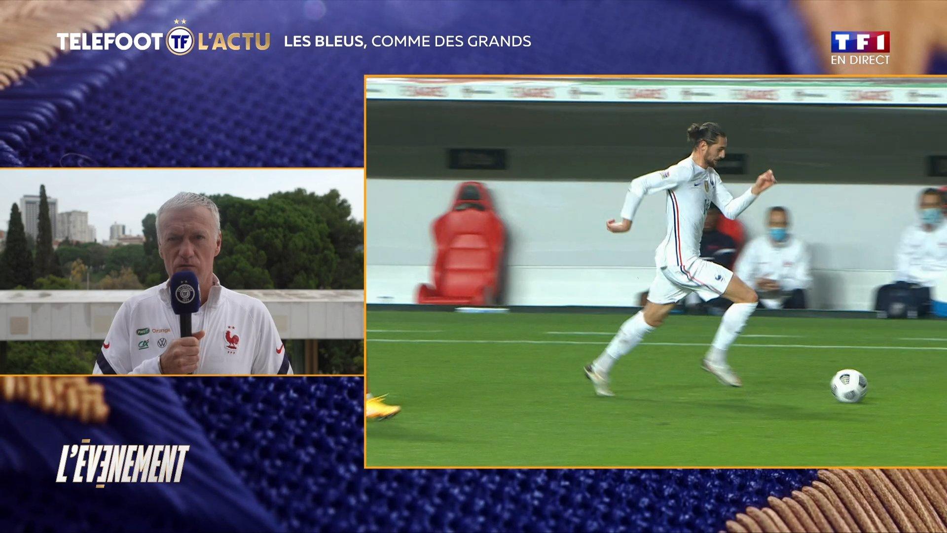 德尚:马夏尔配得上进球,拉比奥等球员能进欧洲杯名单