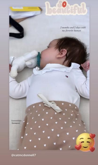 保罗-加索尔更新社媒,晒出自己女儿的萌照