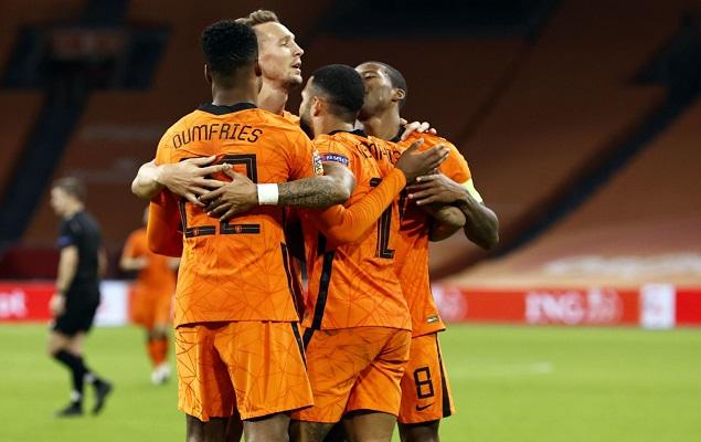 《【煜星娱乐测速】欧国联:维纳尔杜姆双响德佩建功,荷兰3-1波黑》