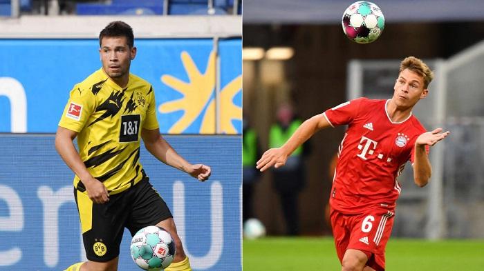 德甲各队场均触球数最多的球员:格雷罗领衔,基米希在列