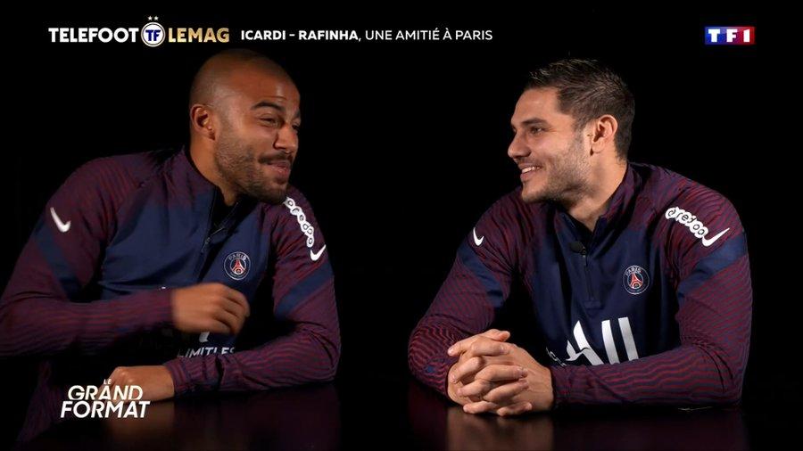 伊卡尔迪拉菲尼亚:曾经是同桌,现在要一起为巴黎拿欧冠