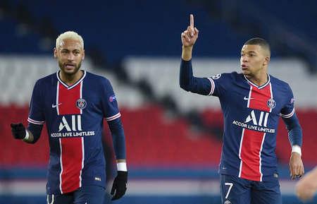 欧冠:迪马利亚造点内马尔点射,巴黎1-0RB莱比锡