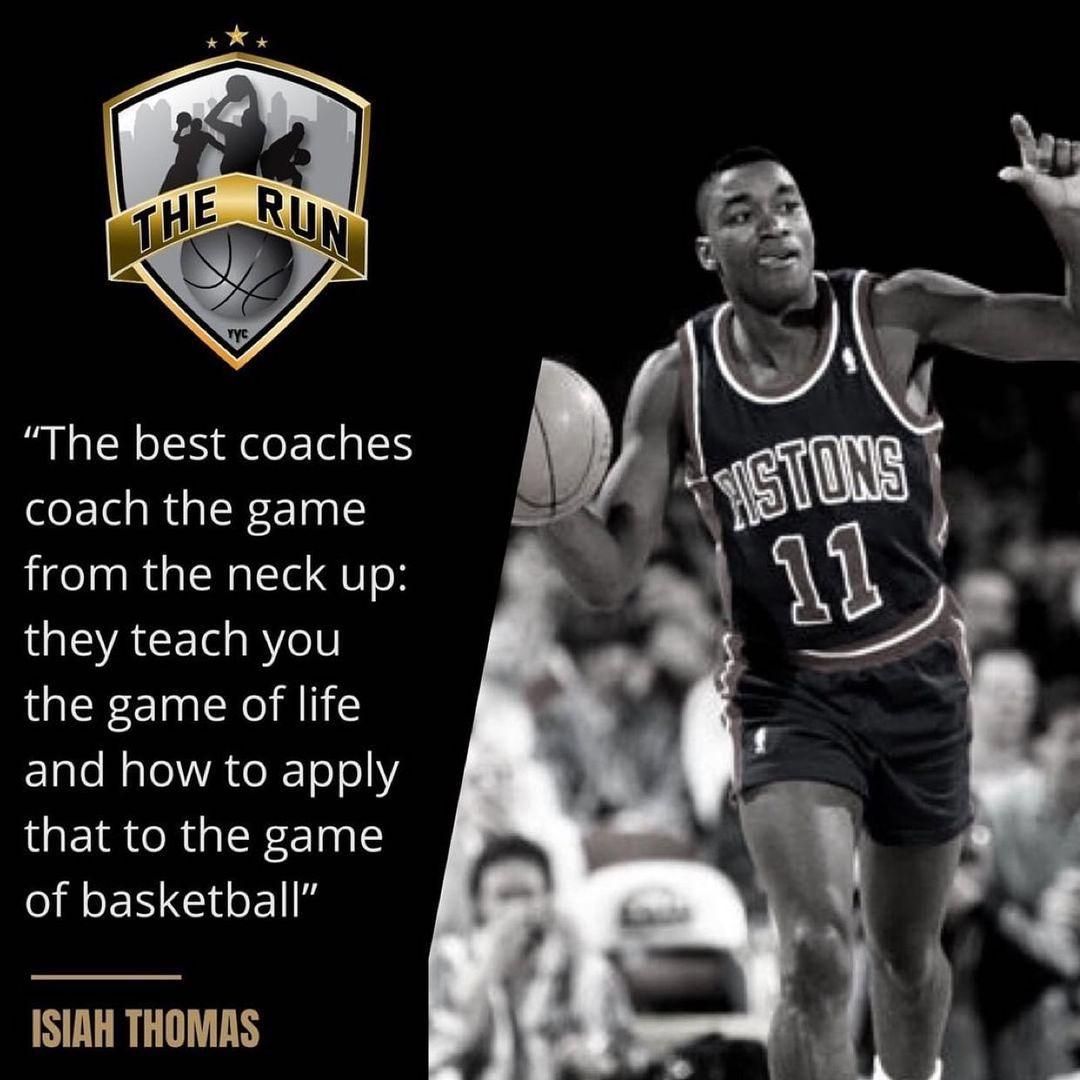 伊赛亚-托马斯:最好的教练会教你如何应对人生赛场