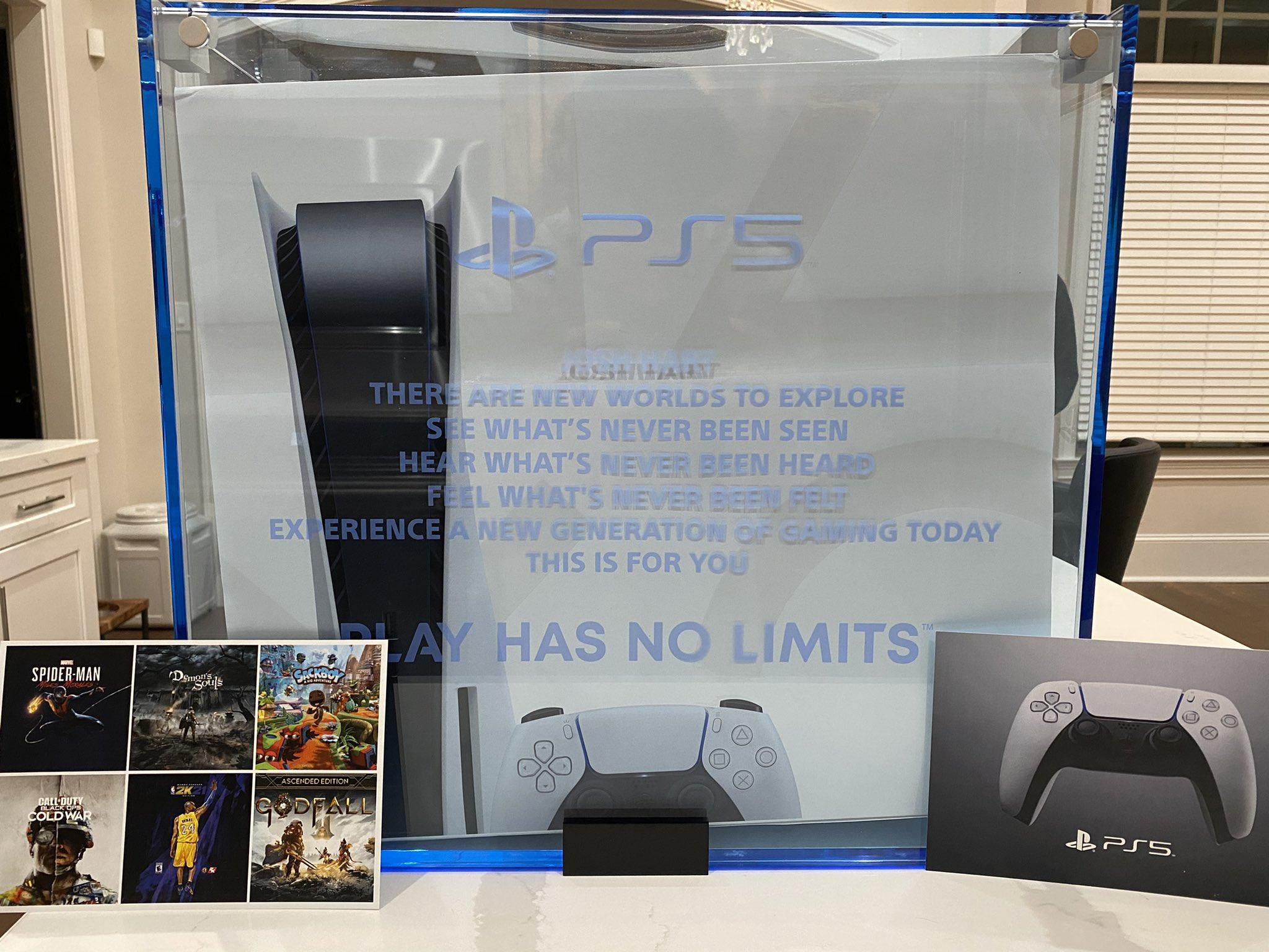 在线抽奖!哈特感恩节推特送出PS5游戏机