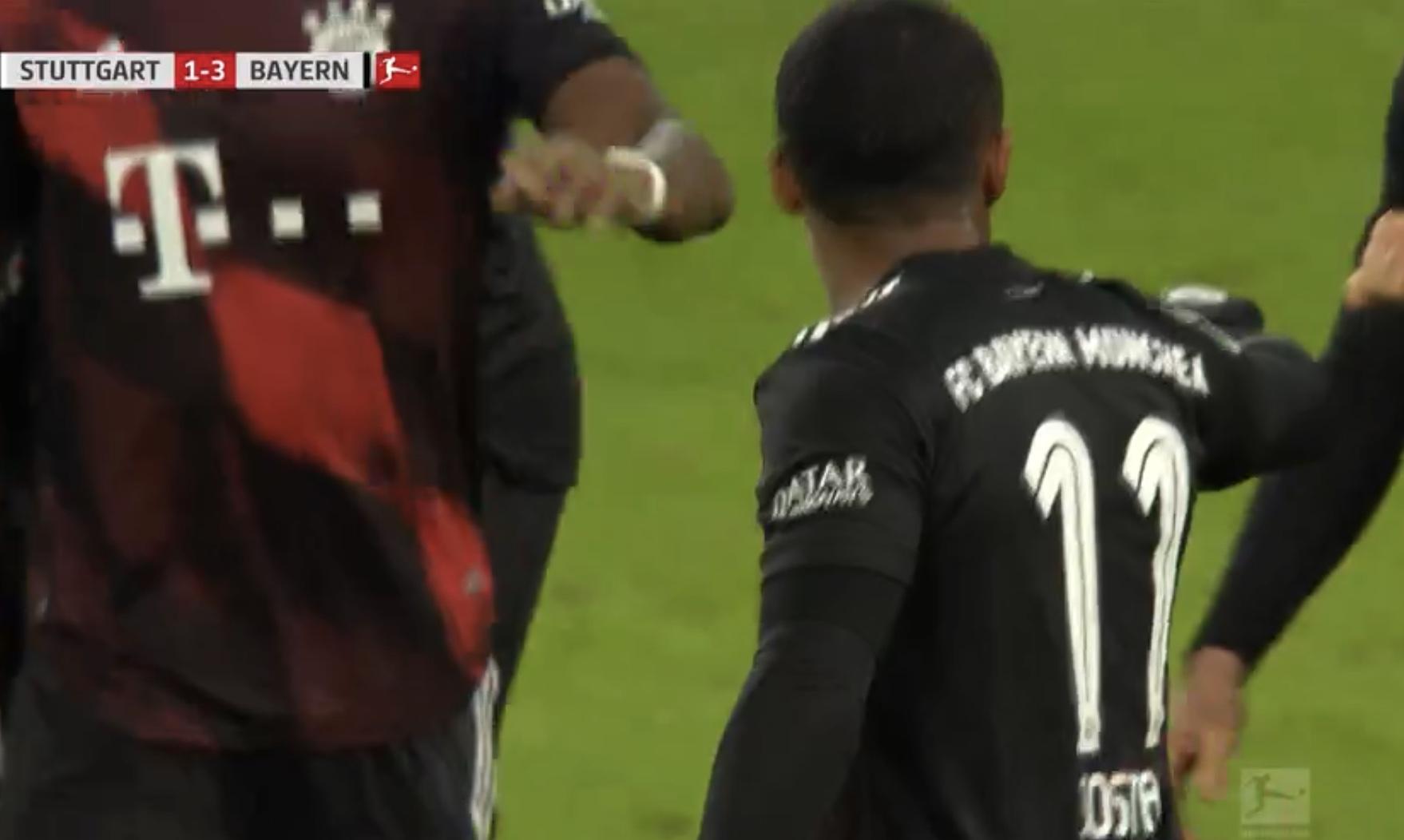 GIF:科斯塔破门锁定胜局,拜仁3-1斯图加特